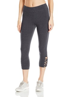Marc New York Performance Women's Caged Crop Legging  XL