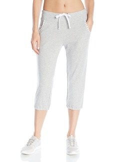 Marc New York Performance Women's Closed Bottom Crop Pant with Stripe Detail