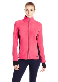 Marc New York Performance Women's Colorblock Polar Fleece Jacket