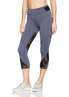 Marc New York Performance Women's Cropped Legging W/Mesh Inserts  M