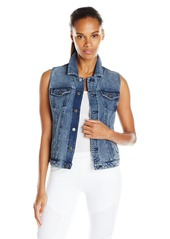 Andrew Marc Marc New York Performance Women's Denim Jean Vest