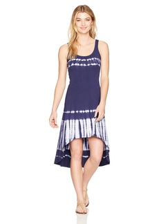 Marc New York Performance Women's Hi-Lo Tie Dye Tank Dress  S