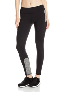 Marc New York Performance Women's Hi Tech Colorblock Zip Legging