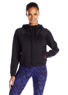 Andrew Marc Marc New York Performance Women's Hooded Crop Jacket with Mesh