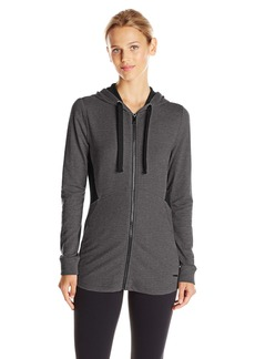Marc New York Performance Women's Hooded Jacket with Mesh