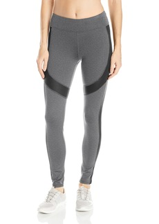 Marc New York Performance Women's Long Active Legging W/ Shine Accents  S