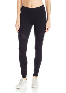 Marc New York Performance Women's Long Active Legging W/ Shine Accents  XS