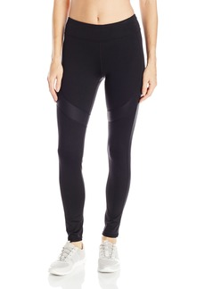 Marc New York Performance Women's Long Active Legging With Shine Accents  M