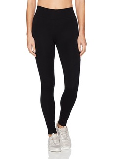 Marc New York Performance Women's Long Ponte Legging with Chevron Seams  M