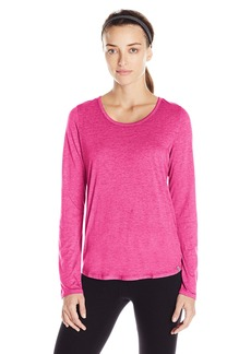 Marc New York Performance Women's L/s Scoop Neck W/Keyhole Detail  M