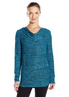 Andrew Marc Marc New York Performance Women's Ny Long Sleeve Cowl Neck Tunic  M