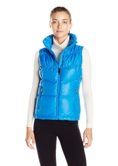 Marc New York Performance Women's Puffy Collar Chevron Vest Skydiver L