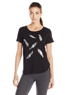 Marc New York Performance Women's Short Sleeve Scoop Neck Tee with Graphic
