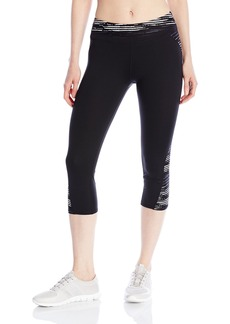 Marc New York Performance Women's Spliced Printed Crop Legging