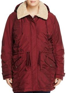 Marc New York Plus Nandie Sherpa Collar Parka