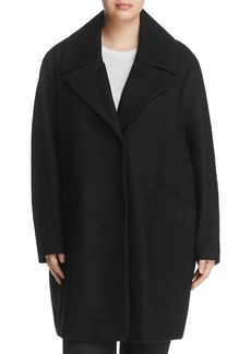 Marc New York Plus Wendy Notched Collar Coat
