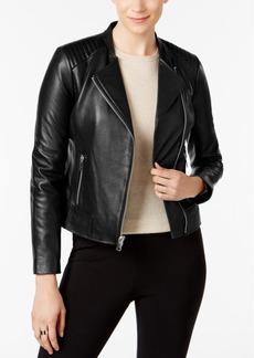 Marc New York Selena Leather Moto Jacket