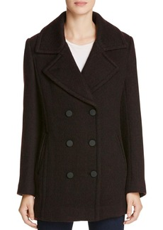 Marc New York Tamara Brushed Twill Pea Coat