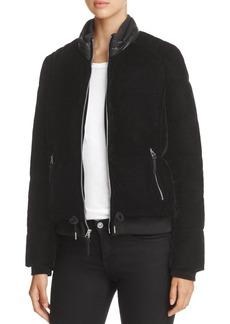 Marc New York Vita Velvet Puffer Coat
