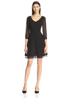Marc New York Women's Fit-and-Flare Dress   US