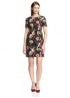 Marc New York Women's Floral Sequin Dress   US