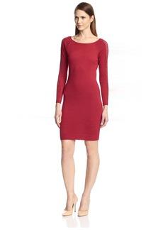 Marc New York Women's Lace Sleeve Dress  XS