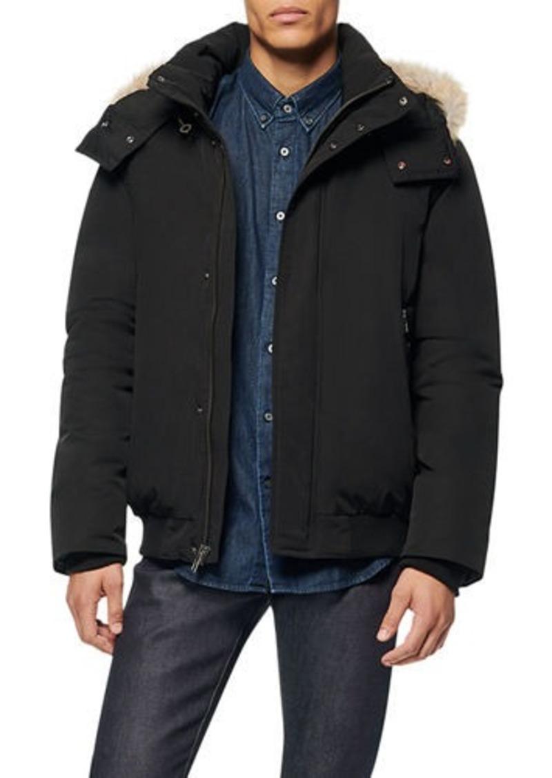 Andrew Marc Men's Adelphi Fur-Trim Coat