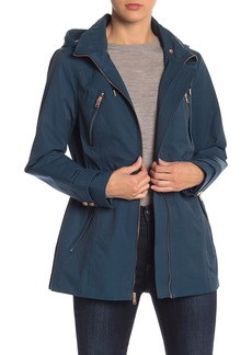 Andrew Marc Removable Hood Anorak