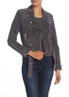 Andrew Marc Sabrina Leather Moto Jacket