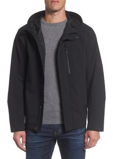 Andrew Marc Stratus Waterproof Hooded Rain Jacket