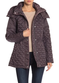 Andrew Marc Tribeca Quilted Hoodie Jacket