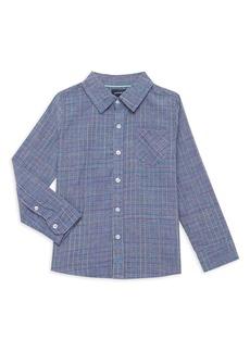 Andy & Evan Little Boy's Button-Down Check Shirt