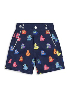 Andy & Evan Little Boy's Shark Swim Shorts