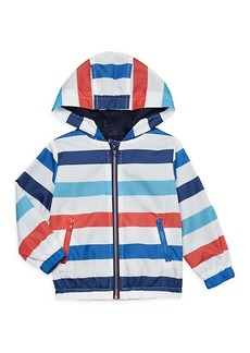 Andy & Evan Little Boy's Striped Hooded Jacket