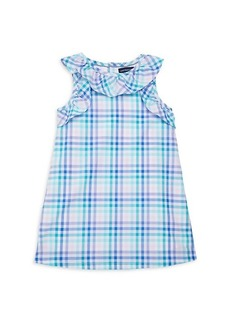 Andy & Evan Little Girl's Checkered Cotton Dress