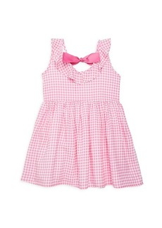 Andy & Evan Little Girl's Gingham Fit-&-Flare Dress