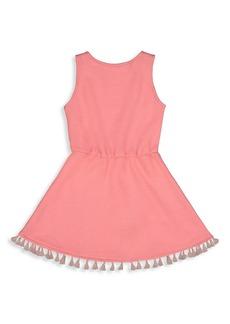 Andy & Evan Little Girl's Terry Tassel Dress