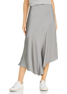 Anine Bing Bailey Asymmetric Silk Skirt