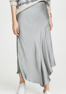 ANINE BING Bailey Metallic Skirt