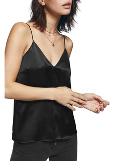 ANINE BING Gwyneth Silk Satin Camisole
