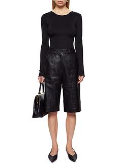 ANINE BING Lane Scoop Back Bodysuit