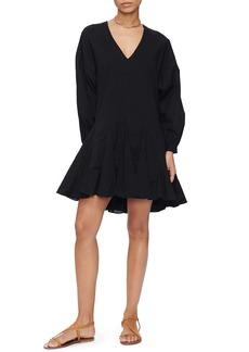 ANINE BING Peyton Long Sleeve Dress