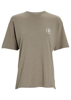 Anine Bing Ida Cotton Graphic T-Shirt