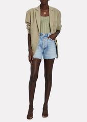 Anine Bing Quinn Oversized Wool Blazer