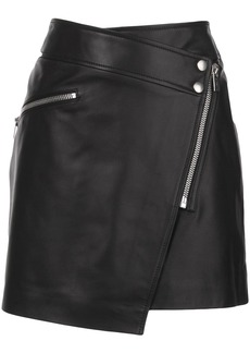 Anine Bing Sarah biker mini skirt
