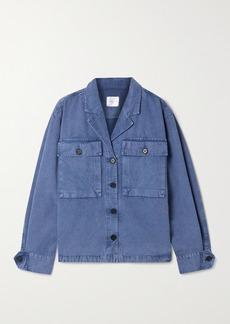 Anine Bing Sawyer Herringbone Cotton Jacket
