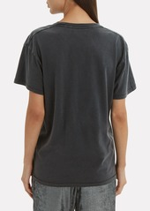 Anine Bing Viper Black T-Shirt
