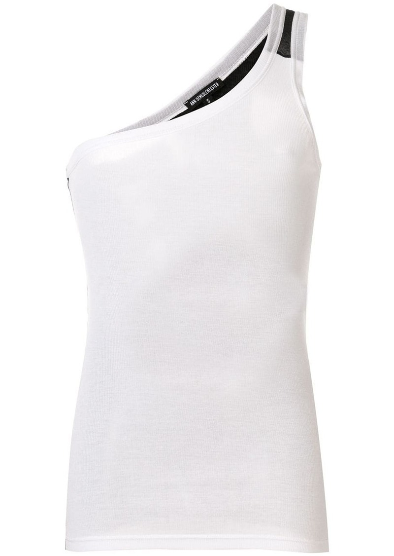 Ann Demeulemeester one shoulder vest