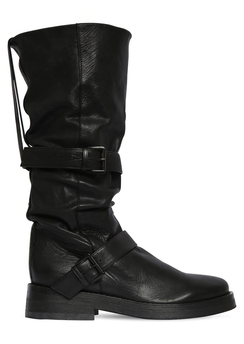 Ann Demeulemeester 40mm Leather Boots