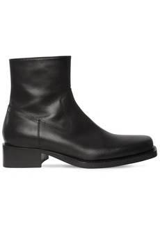 Ann Demeulemeester 45mm Leather Boots